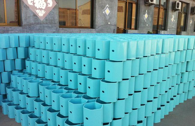 喷塑方立柱生产厂家