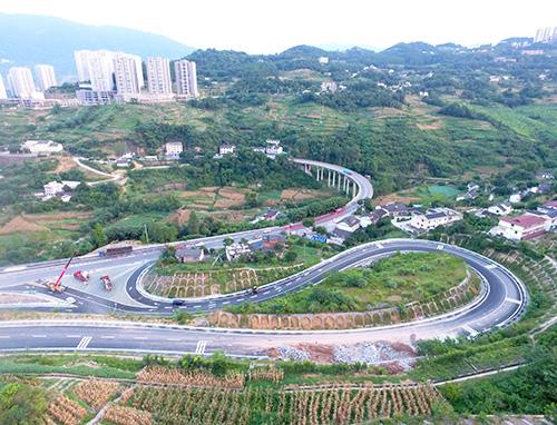 沿江高速公路支线白涛隧道工程